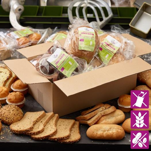 Duurzaamheidspakket glutenvrij en lactosevrij* t.w.v. minimaal € 30