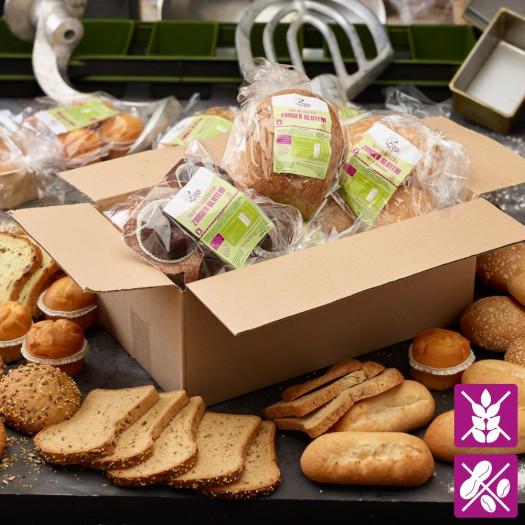 Duurzaamheidspakket glutenvrij compleet t.w.v. minimaal € 30