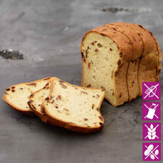 Vruchtenbrood glutenvrij 400 gram