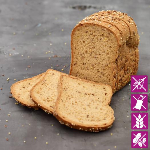 Meerzadenbrood glutenvrij 350 gram