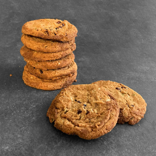 Cranberry-pompoenpit Cookies Glutenvrij